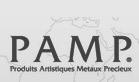 Investice do zlata - PAMP logo