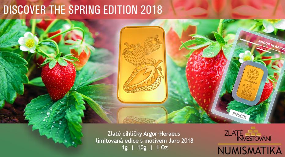 Limitovaná edice Argor Heraeus - Jaro 2018