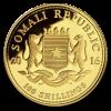 Zlatá mince somálský slon 2016-1/10 Oz