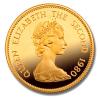 Zlatá mince rok opice 1980-lunárné série Honkong