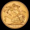 Zlatý britský Sovereign Victoria 1894-rub