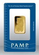 Investiční zlatá cihla PAMP Fortuna