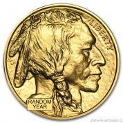 Investiční zlatá mince American Buffalo-Bizon