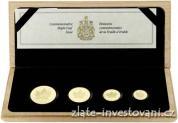 Investiční zlatý set Maple Leaf proof-4 mince