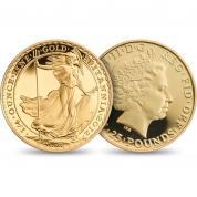 Investiční zlatá mince Britannia