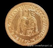 Zlatý svatováclavský dukát 1923