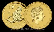 Investiční set zlatých mincí lunární série rok Opice 2016-proof