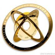 Investiční zlatý produkt Valcambi-Armilární mince