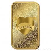 Investiční zlatá cihla Love Always-PAMP