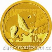 Investiční zlatá Panda 2016