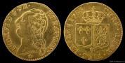 Zlatý francouzský Louis d´Or- Ludvík  XVI.