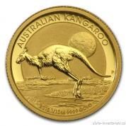 Investiční zlatá mince australský klokan-nugget -2015