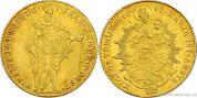Zlatý uherský dukát 1848-revoluční ražba