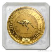 Investiční zlatá mince australský klokan-nugget 2 Oz