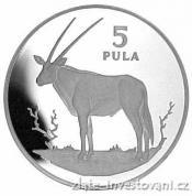 Stříbrná mince Antilopa 1978-Botswana