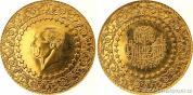 Zlatá mince 500 piastrů-Turecko