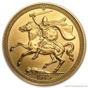 Zlatý Sovereign -Viking