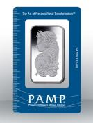 Investiční stříbrná cihla PAMP Fortuna