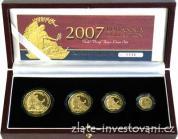 Investiční set Britannia 2007-4 mince proof