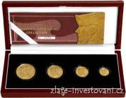Investiční set Britannia 2003-4 mince proof