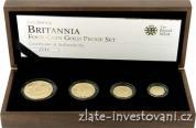 Investiční set Britannia 2009-4 mince proof