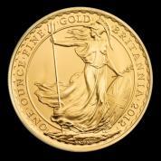 Investiční zlatá mince Britannia -2016