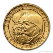 Zlatá mince rumunská 20 lei-Tři králové