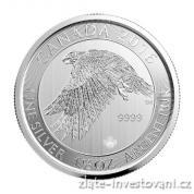 Investiční stříbrná mince Sokol 2016-Kanada