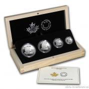Stříbrný set Orel bělohlavý 2015-Kanada