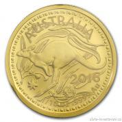 Investiční zlatá mince australský klokan 2016-RAM