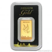 Investiční zlatá cihla Holubice-Holy Land Mint