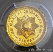 Zlatá mince Tola- Indie
