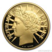 Zlatá mince 100 franků 1988-Fraternity