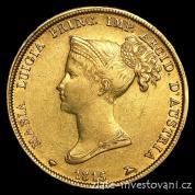 Zlatá mince 40 lira-Marie Louise rakouská -Parma 1815