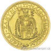Zlatý svatováclavský 2 dukát 1932