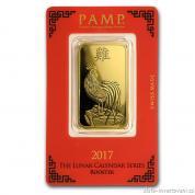 Investiční zlatá cihla PAMP Rok kohouta 2017
