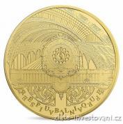 Zlatá mince Malý palác- Orsay-2016