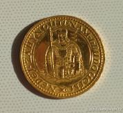Zlatý svatováclavský dukát 1928