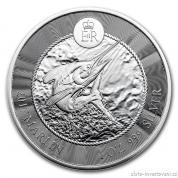 Investiční stříbrná mince Mečoun-Kajmanské ostrovy 2017