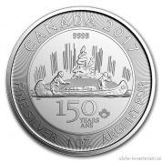 Stříbrná mince Voyageur 2017-Canada 150. výročí