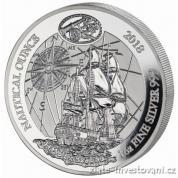 Stříbrná mince rok Endevour 2018-Rwanda