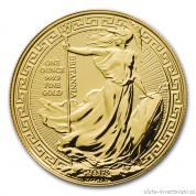 Investiční zlatá mince Britannia -2018 - orientální motiv