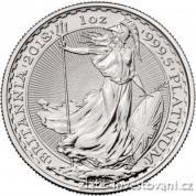 Investiční platinová mince Britannia  2018