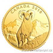 Zlatá mince 200 CAD-Bighorn 2018 Kanada