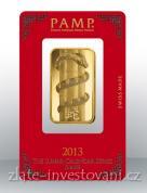 Investiční zlatá cihla PAMP Rok hada 2013