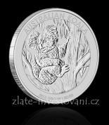 Investiční stříbrná mince Koala 2009-2014