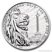 Investiční stříbrná mince Trafalgarské náměstí  2018