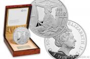 Stříbrná mince Sapphire Coronation 2018 Silver Proof 1 kg