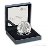 Stříbrná mince Queen´s beasts-Sokol královny Anglie   2019 Silver Proof