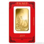 Investiční zlatá cihla PAMP Rok vepře 2019